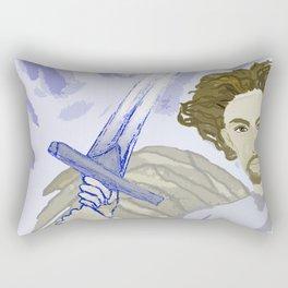 Clashing of Swords Rectangular Pillow