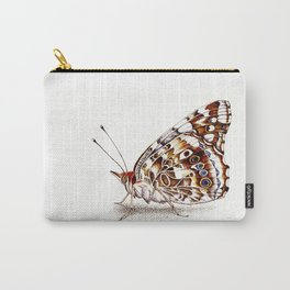 Painted Lady Butterfly Carry-All Pouch