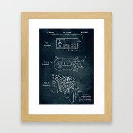 2000 - Operating device with analog joystick Framed Art Print