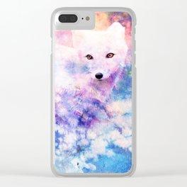 ARCTIC FOX Clear iPhone Case