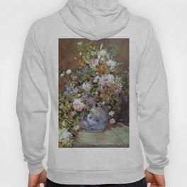 Pierre Auguste Renoir Spring Bouquet of Flowers 1866 Hoody