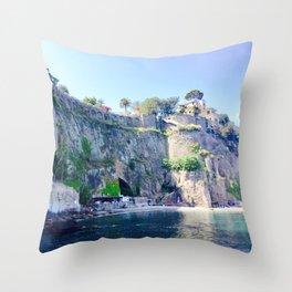 Sorrento Sunshine Throw Pillow