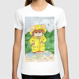 Hammy in a Raincoat T-shirt