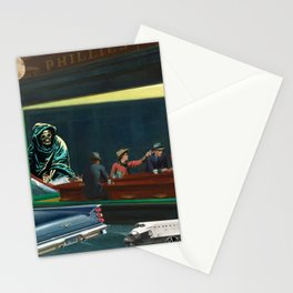 A Night Out On The River Styx Stationery Cards
