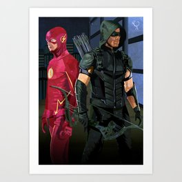 Fastest Arrow Art Print