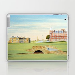 St Andrews Golf Course 18th Hole Laptop & iPad Skin