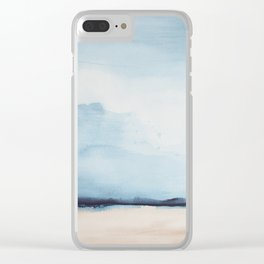 Landscape I Clear iPhone Case