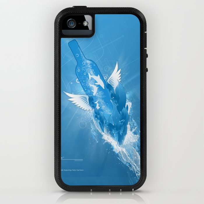 Flowing Paradise iPhone Case