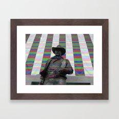 wayne Framed Art Print