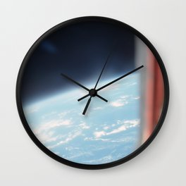 Earth from the sky 2 Wall Clock