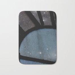 Starry Night - Clock Tower Bath Mat