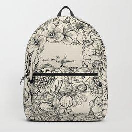 SKULLS 5 HALLOWEEN SKULL Backpack