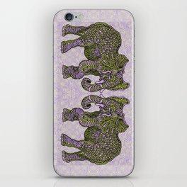 Elephant~ the beautiful beast iPhone Skin
