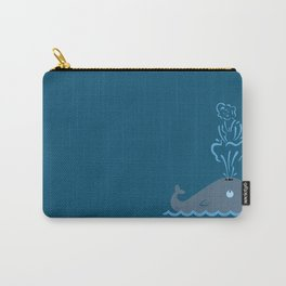 Iconic Whale Carry-All Pouch