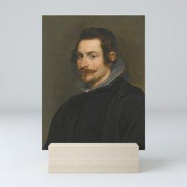Vintage portrait of a Gentleman Mini Art Print