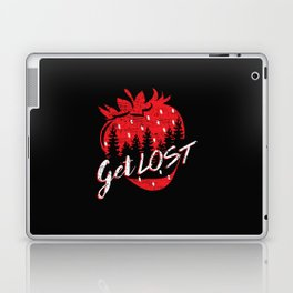 Get Lost in Strawberry and Pines Laptop & iPad Skin
