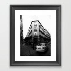 Taxi Framed Art Print