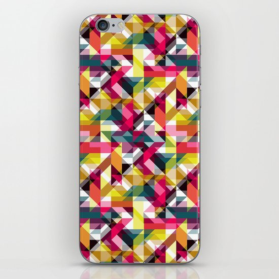 Aztec Geometric VII iPhone Skin