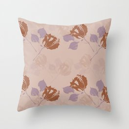Untitled-3 (flowers) Throw Pillow