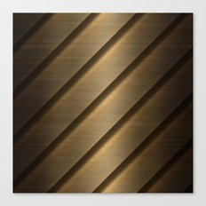 Copper Brass Metal Pipe Canvas Print