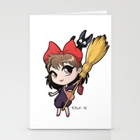 chibi Stationery Cards featuring Chibi Kiki by Warbunny