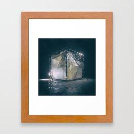 WINTER. (everyday 07.16.17) Framed Art Print