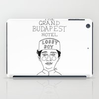 budapest hotel iPad Cases featuring The Grand Budapest Hotel by ☿ cactei ☿