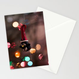 Penguin Santa Photography Print Stationery Cards