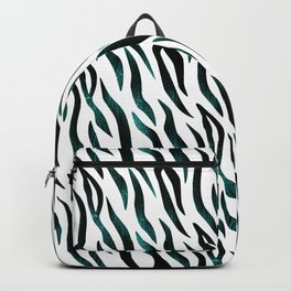 Here Kitty Kitty - Teal Backpack