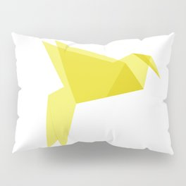 Origami Bird Pillow Sham