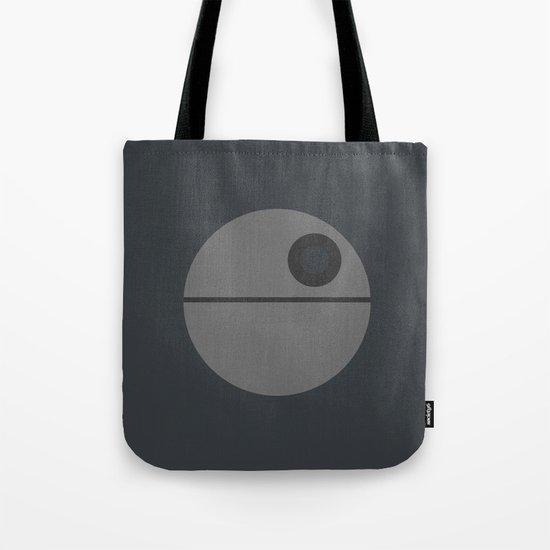 Star Wars Minimalism - Death Star Tote Bag