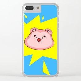 Peepoodo Pop Clear iPhone Case