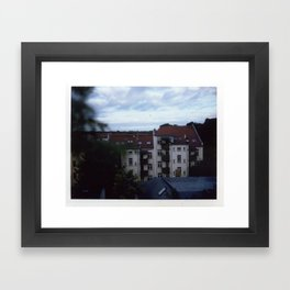 leipzig Framed Art Print