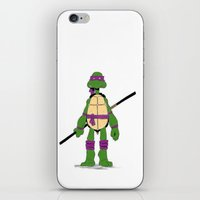 tmnt iPhone & iPod Skins featuring TMNT by Shahbab