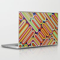 70s Laptop & iPad Skins featuring 70s Kitsch by Roberlan Borges