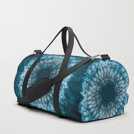 Blue Mandala Duffle Bag