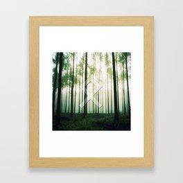 Othala (rune, means Home.) Framed Art Print