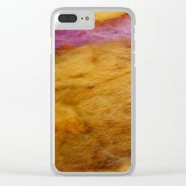 Sunrise wool Clear iPhone Case