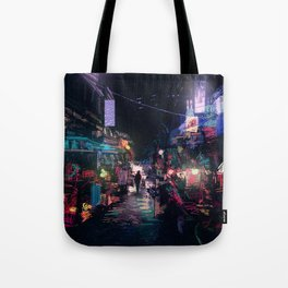 Blues of the Night Tote Bag