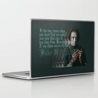valar morghulis Laptop & iPad Skins featuring Arya Stark, Valar Morghulis by Your Friend Elle
