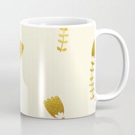 Cream Gold Foil 03 Coffee Mug