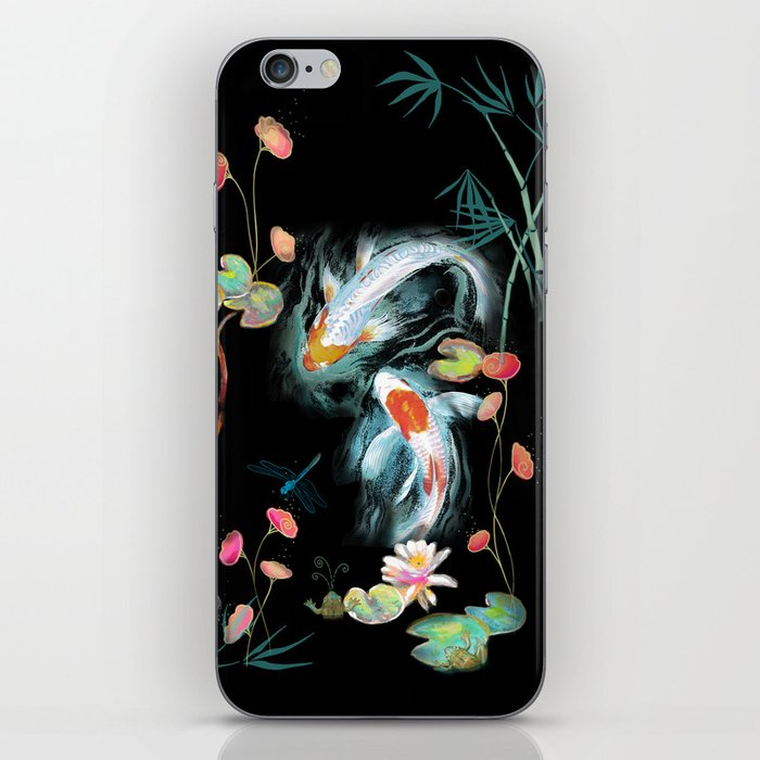 Japanese Water Garden iPhone Skin