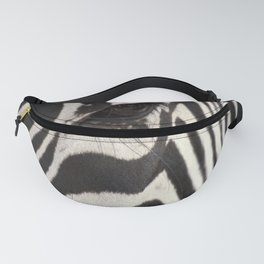 Zebra Eye Fanny Pack