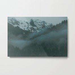 Swiss Fog VII Metal Print