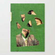 cutface Canvas Print
