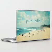 paradise Laptop & iPad Skins featuring paradise by Sylvia Cook Photography
