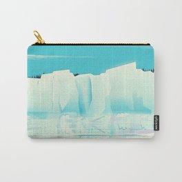 Eqi Glacier Greenland. Carry-All Pouch