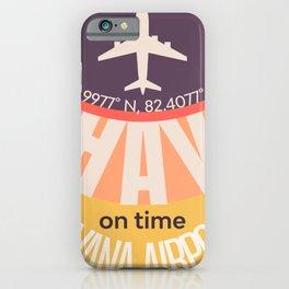 HAV airport 120421Vers iPhone Case
