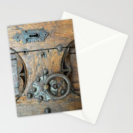 Church door Stationery Cards