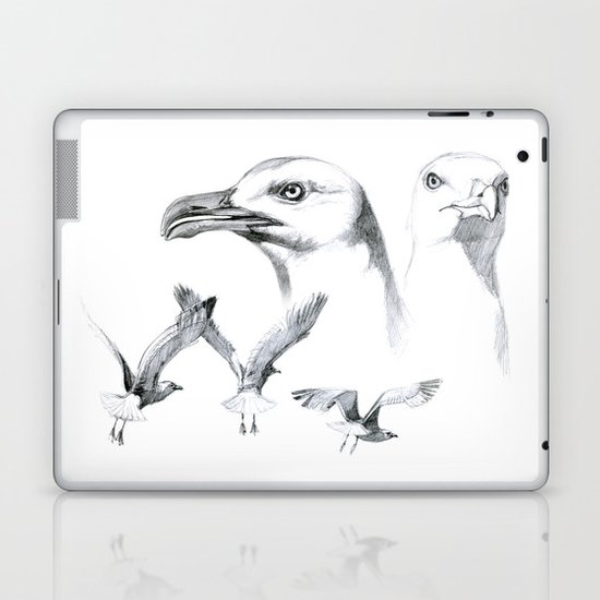 Great Black-backed Gull - Larus marinus   SK043 Laptop & iPad Skin
